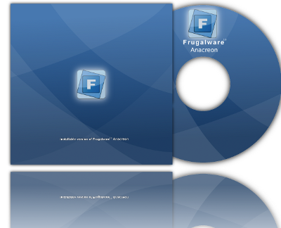 Frugalware 1.0 Anacreon Cd cover